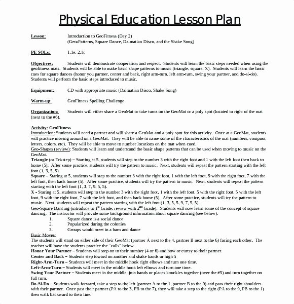 Dance Lesson Plan Template Luxury Dance Teacher Lesson Plan Book 5 Cleaver Free Lesson Plans