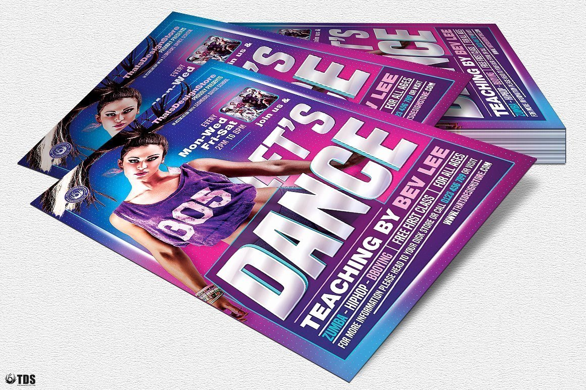 Dance Lesson Plan Template New Dance Classes Flyer Template