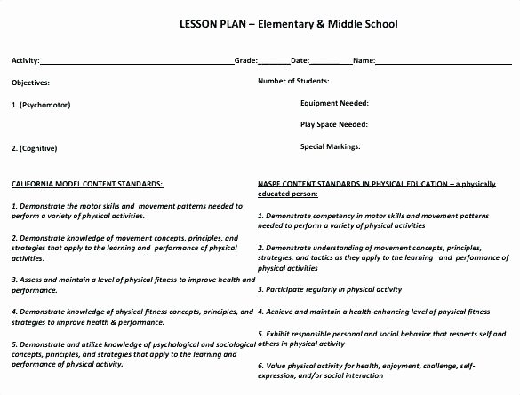 Dance Lesson Plan Template New Pe Lesson Plans for Elementary School Year 9 Basketball