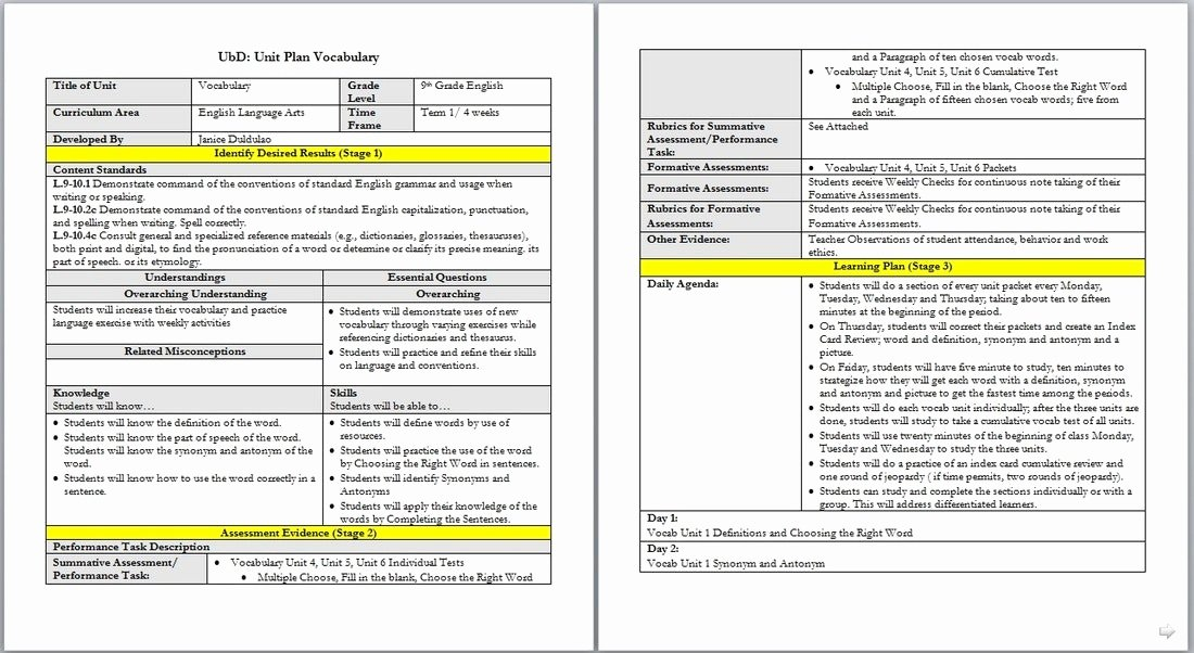 Danielson Lesson Plan Template Awesome Great Danielson Framework Lesson Plan Template