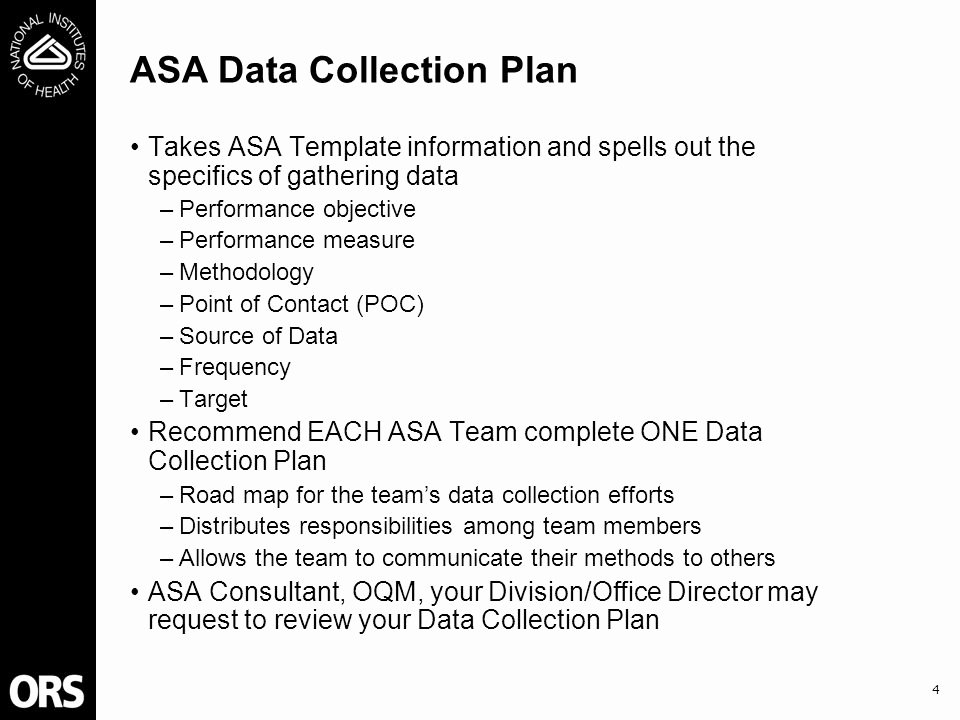 Data Analysis Plan Template Awesome Training Objectives Prepare You to Plan for Data