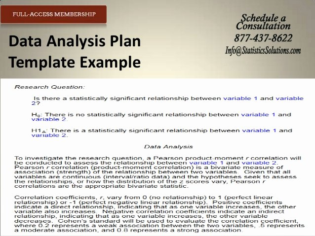 Data Analysis Plan Template Beautiful Professional Essay Simpson University thesis Data
