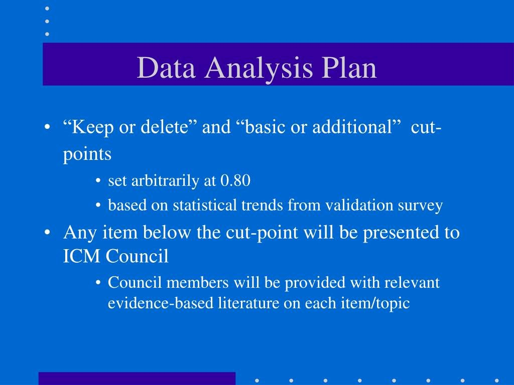 Data Analysis Plan Template Best Of Ppt International Confederation Of Midwives Powerpoint