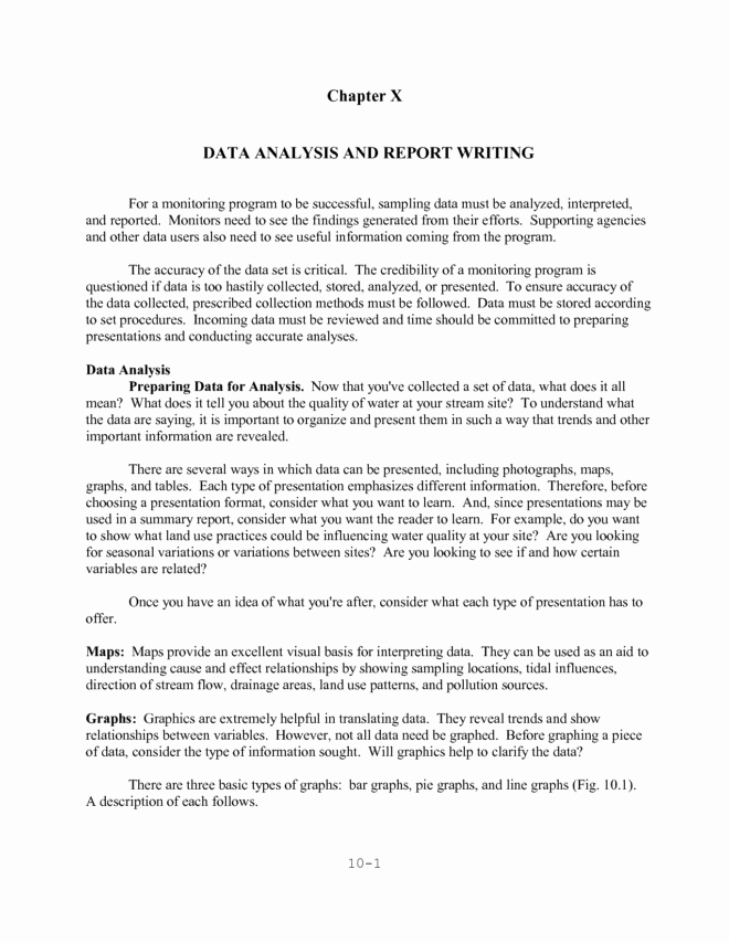 Data Analysis Report Template Beautiful Outstanding Data Analysis and Report Writing Sample V M