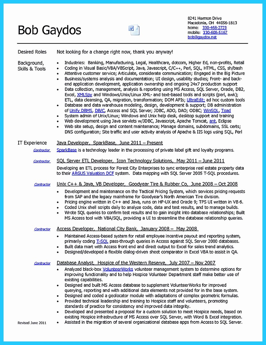 Data Analyst Resume Template Awesome High Quality Data Analyst Resume Sample From Professionals