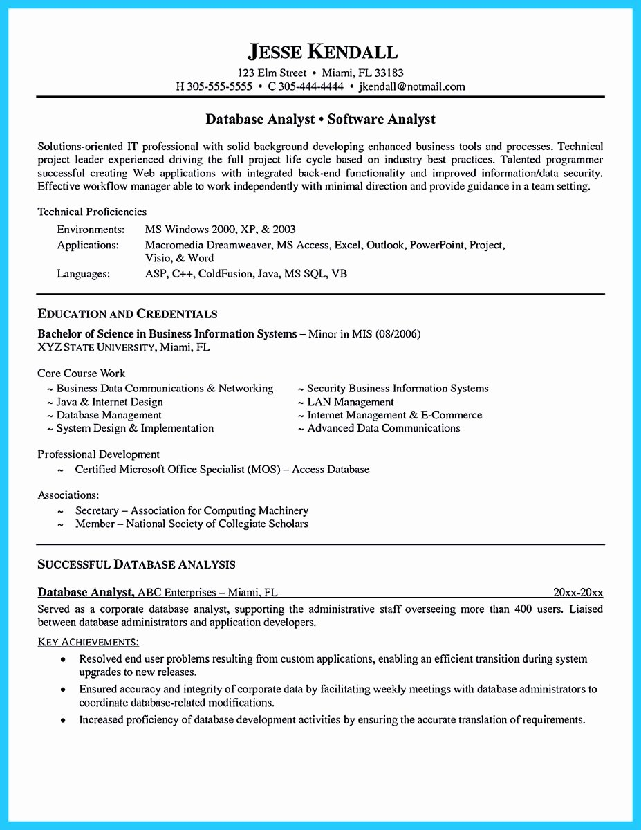 Data Analyst Resume Template Beautiful High Quality Data Analyst Resume Sample From Professionals