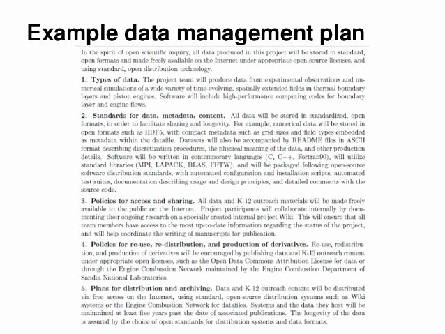 Data Management Plan Template Lovely Introduction to Research Data Management
