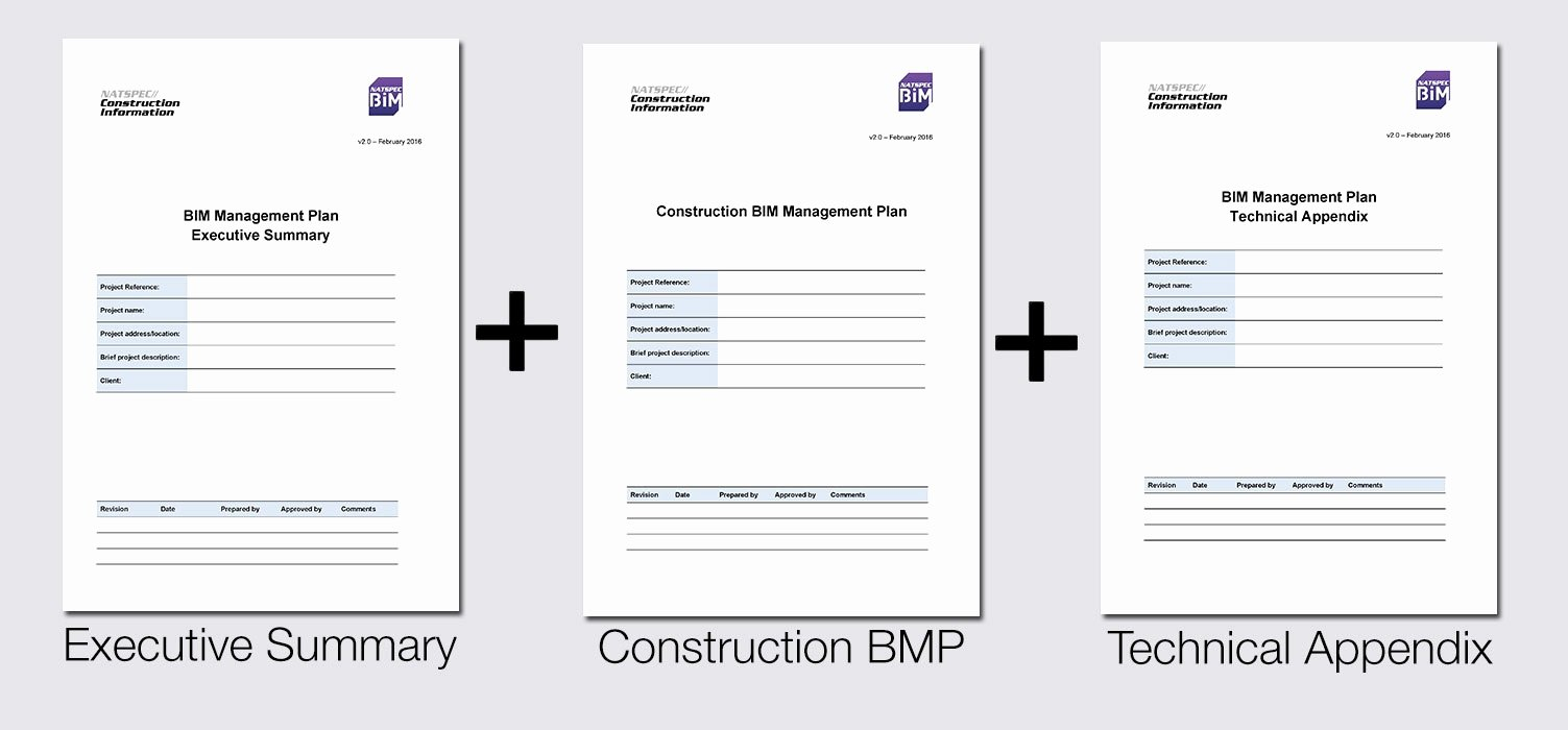 Data Management Plan Template New Natspec Bim Bim Management Plan Template