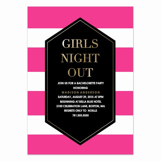 Date Night Invitation Template Beautiful Girls Night Out Invitations & Cards On Pingg