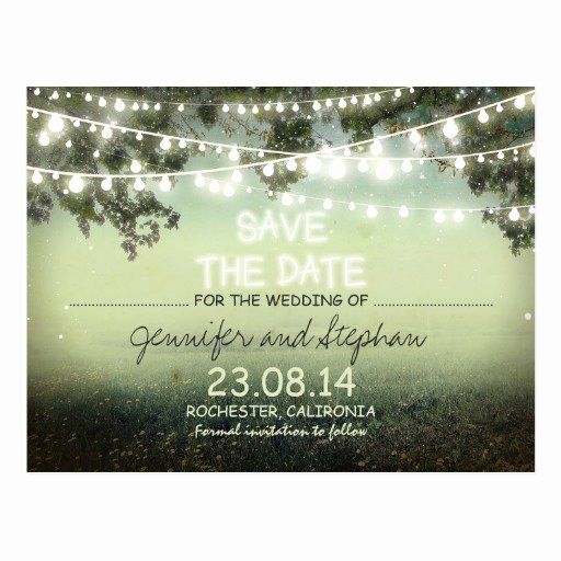 Date Night Invitation Template Lovely Romantic Night Lights Modern Save the Date Postcards