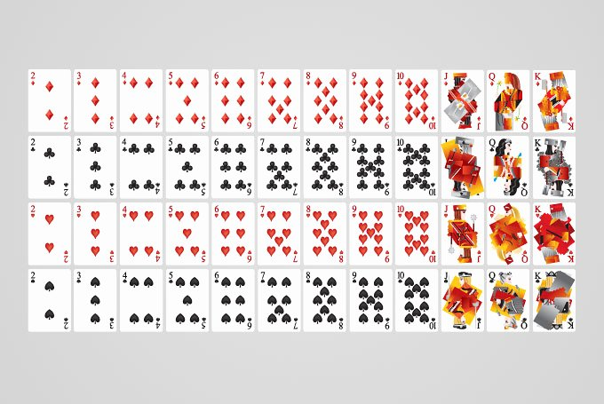 Deck Of Cards Template Inspirational 13 Vector Playing Card Template Free Vector