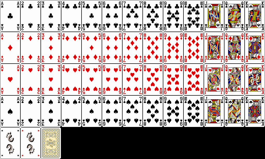 Deck Of Cards Template Luxury 7 Best Of Deck 52 Printable Cards Standard