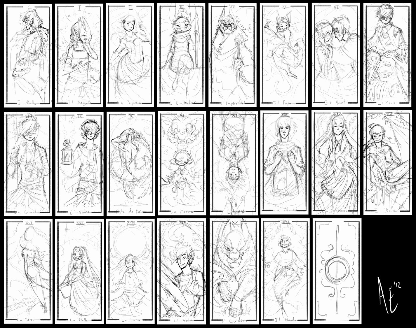 Deck Of Cards Template Luxury Turtle Tarot Rough Sketches by Turtle Arts On Deviantart