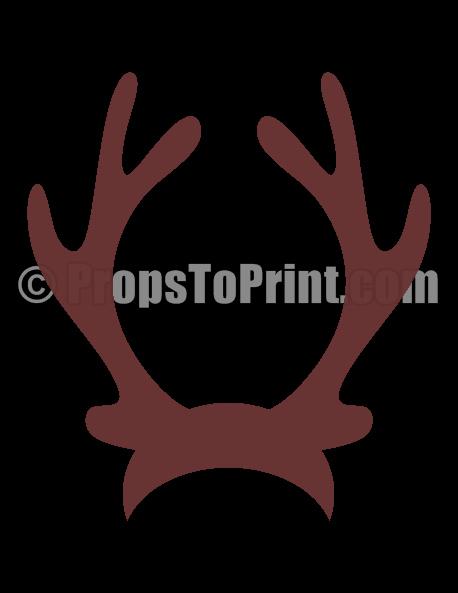 Deer Antler Printable Template Awesome Reindeer Antlers Png Transparent Reindeer Antlers Png