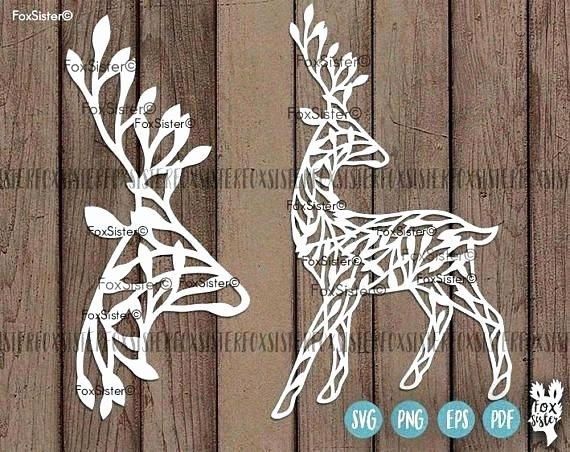 Deer Antler Printable Template New Template Deer Antler Template