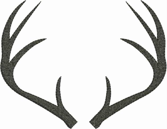 machine embroidery deer head designs