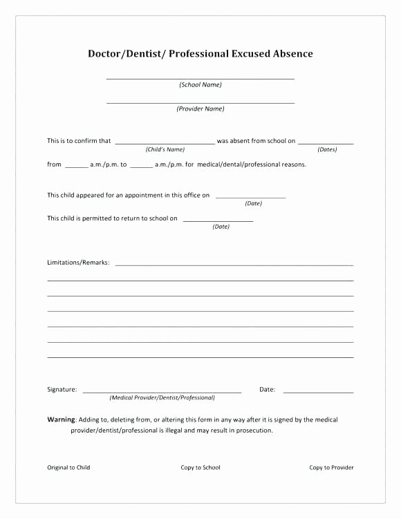 Dental Clinical Notes Template Unique Dentist Note for School Absence Work Template – Bharathb