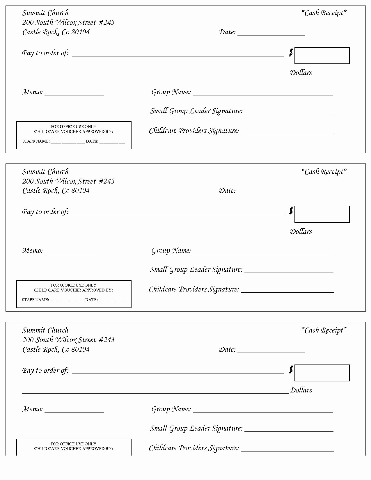 Dependent Care Receipt Template Inspirational 10 Best Of Care Receipt Template Child Care
