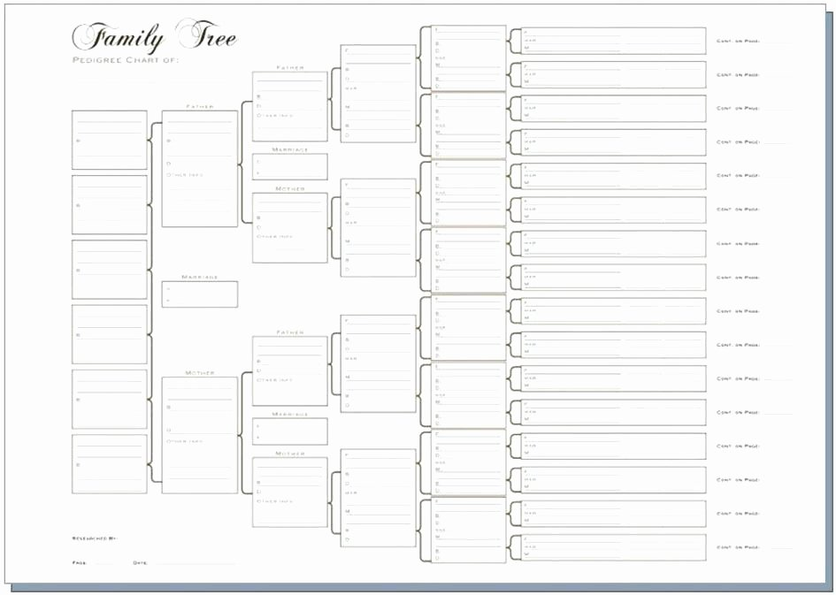 Descendant Chart Template Excel Awesome Beautiful Genealogy Charts Template Printable