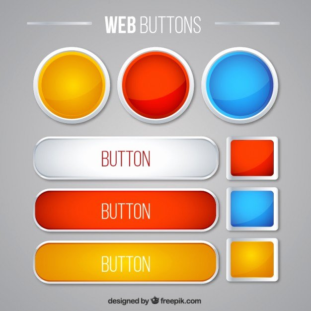 Design A button Template Beautiful button Vectors S and Psd Files