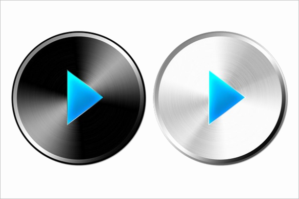 Design A button Template Beautiful Play button Vector Designs Free & Premium Templates