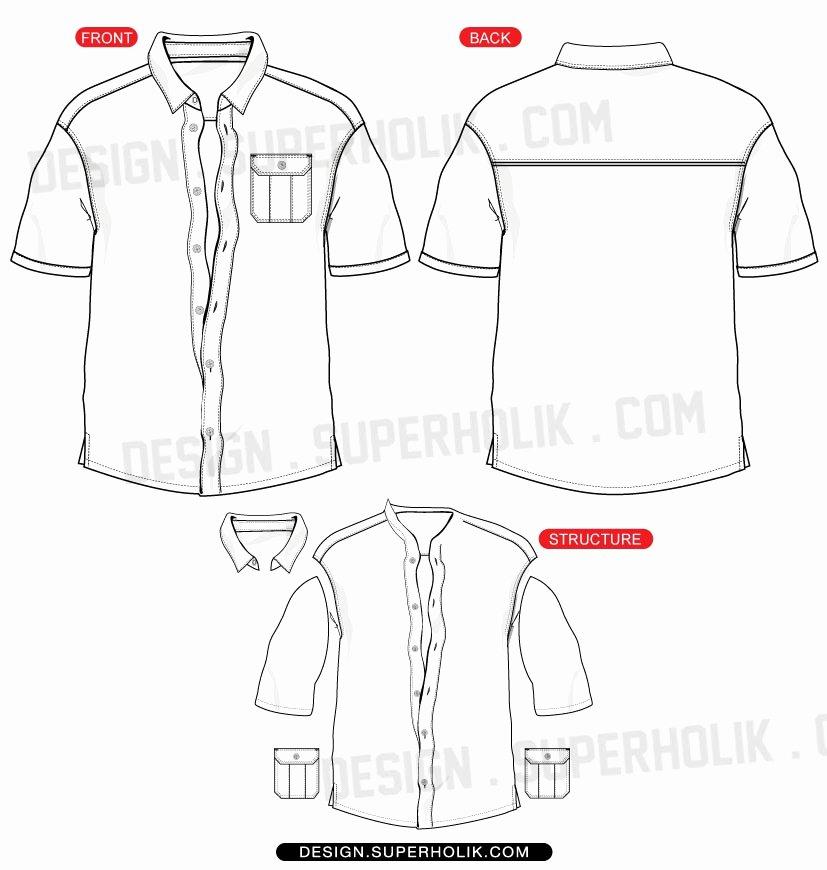 Design A button Template Inspirational button Down Shirt Vector Template