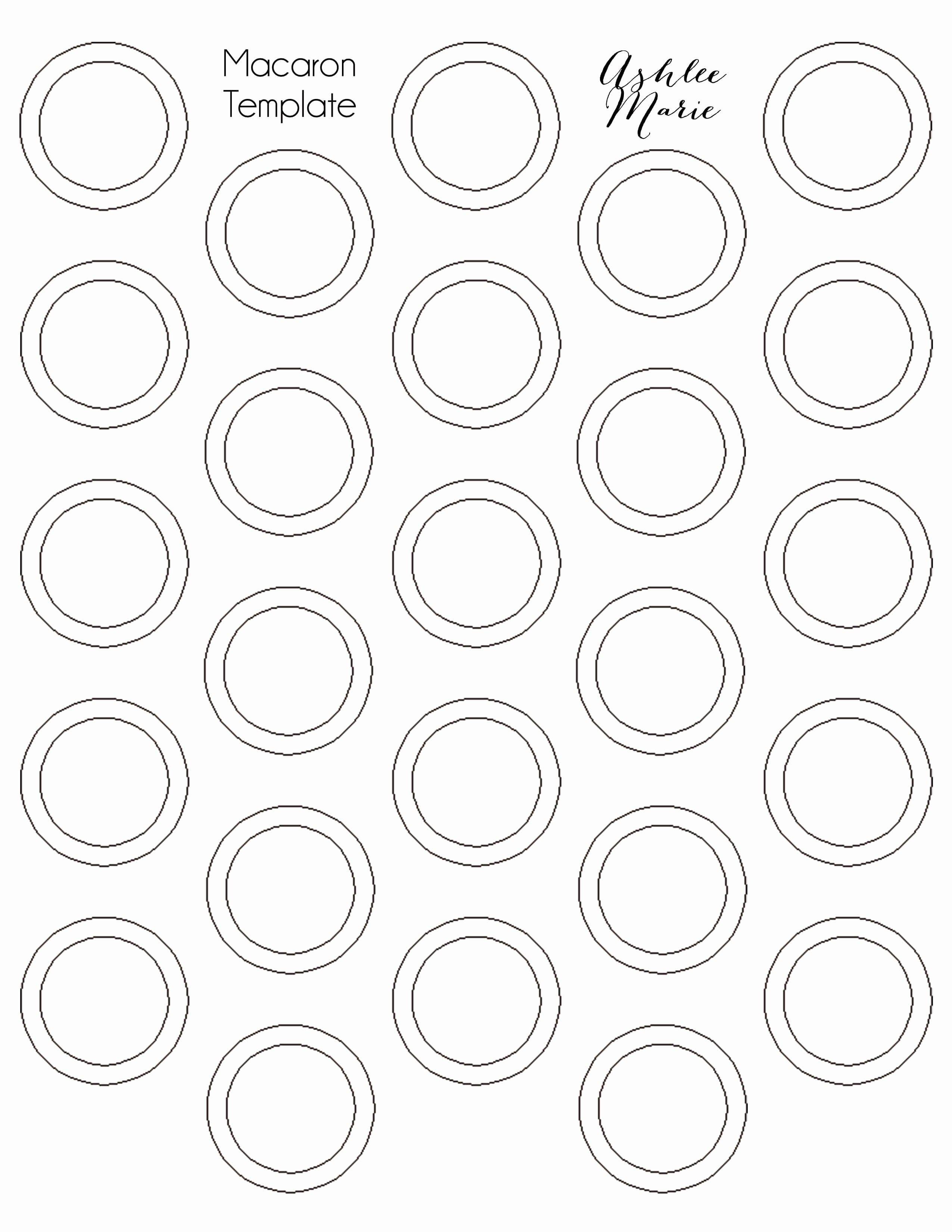 Design A button Template Inspirational Chocolate Mint Macarons