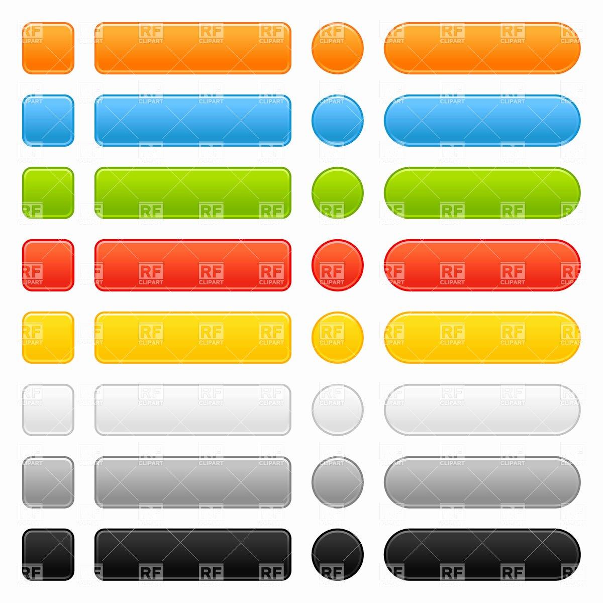 Design A button Template New Web button Templates Vector Image – Vector Artwork Of