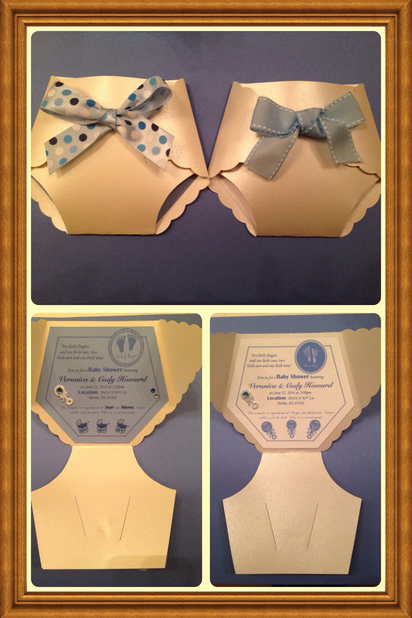 Diaper Party Invitation Template Fresh Diaper Baby Shower Invitation Kept A Neutral Color Scheme