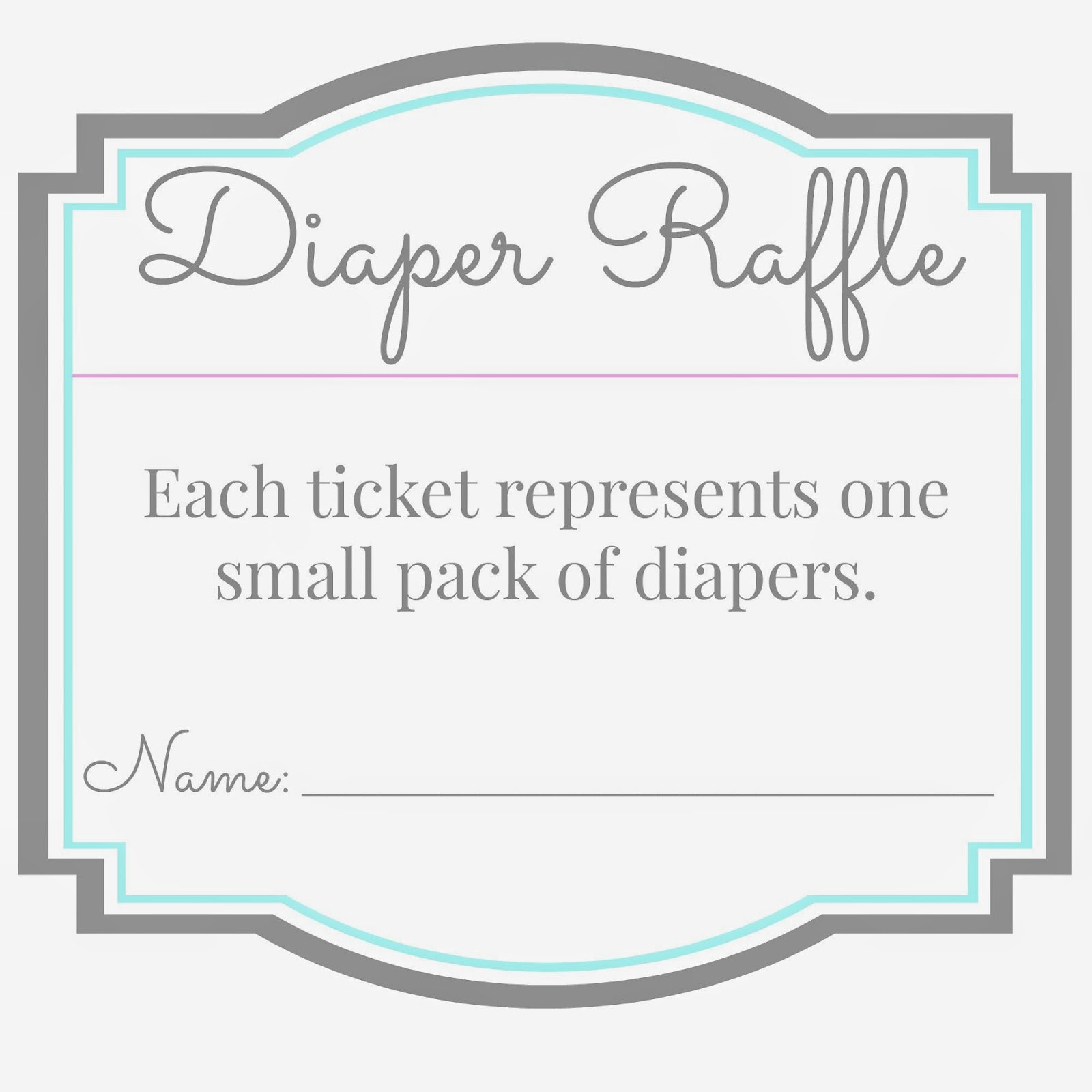 Diaper Raffle Tickets Template Elegant Moved Permanently