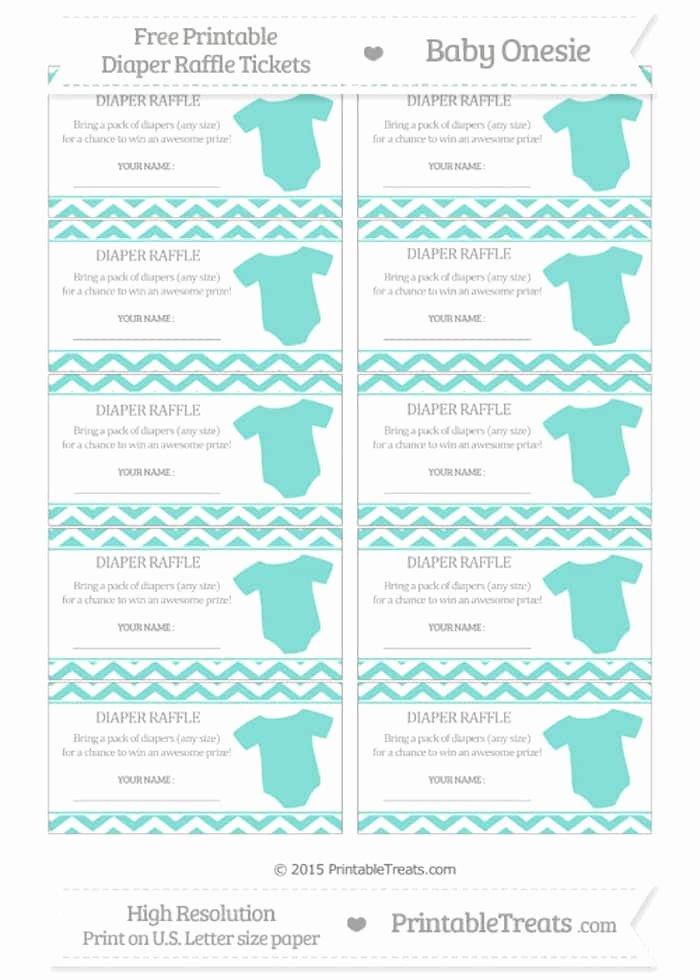 Diaper Raffle Tickets Template Luxury 10 Free Printable Diaper Raffle Tickets Page 2