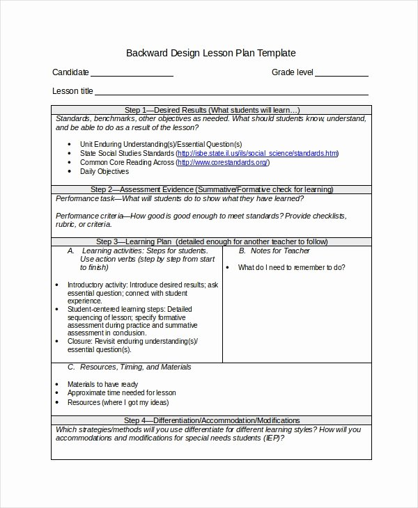 Differentiated Lesson Plan Template Inspirational Differentiated Instruction Template 7 Free Word Pdf