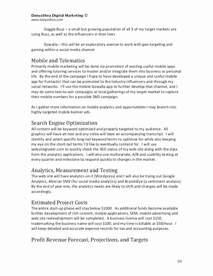 Digital Marketing Contract Template Inspirational Digital Marketing Consultant Contract Template social