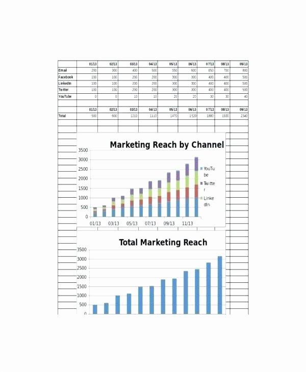 Digital Marketing Report Template Inspirational Digital Marketing Monthly Report Template Sample Templates