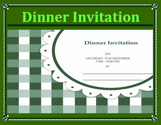 Dinner Invite Template Word Awesome Dinner Invitation Samples
