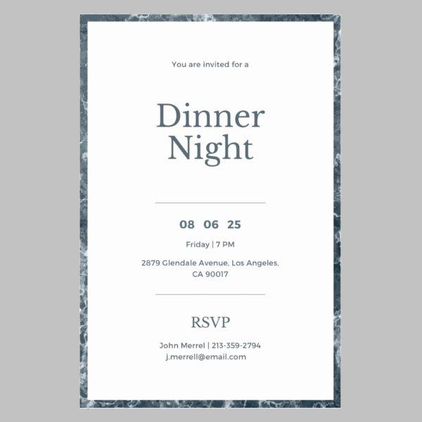 Dinner Invite Template Word Best Of 11 Work Dinner Invitations Word Psd Publisher