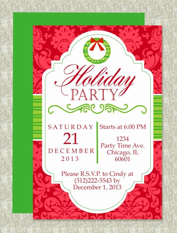 Dinner Invite Template Word Luxury Christmas Party Microsoft Word Invitation Template