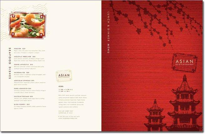Dinner Menu Template Word Elegant 12 Best Chinese Food Restaurant Menu Templates
