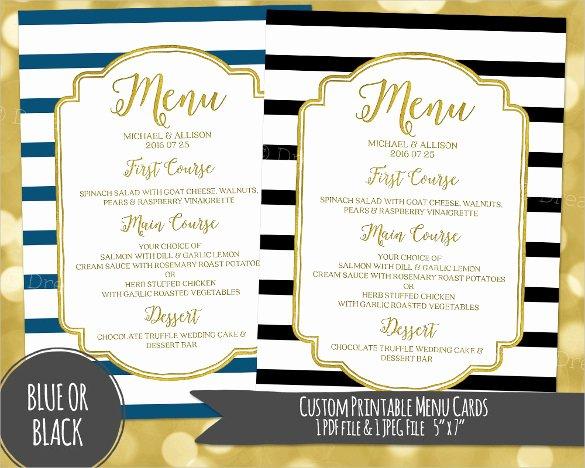 Dinner Menu Template Word Luxury Dinner Menu Templates – 36 Free Word Pdf Psd Eps