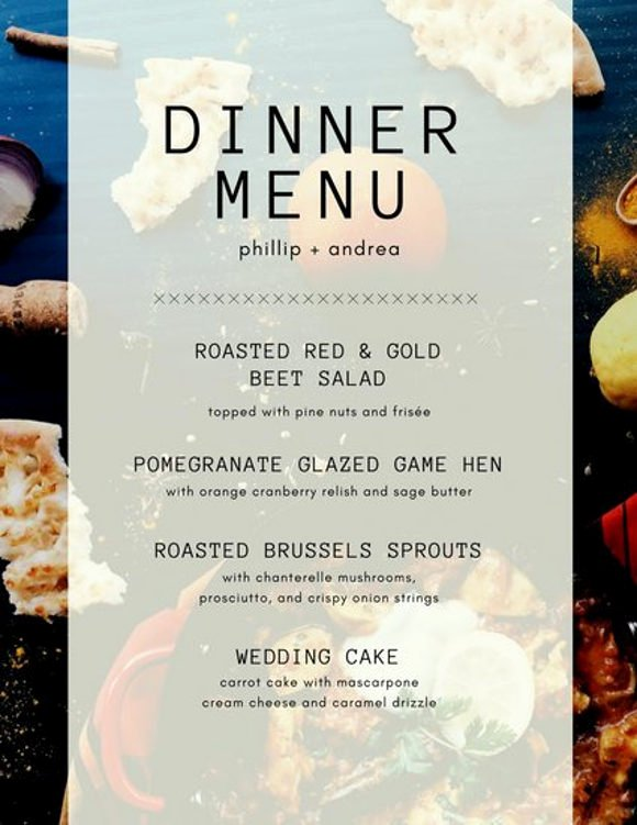 Dinner Party Menu Template Unique 8 Menu Layout Templates Free Psd Eps format Download