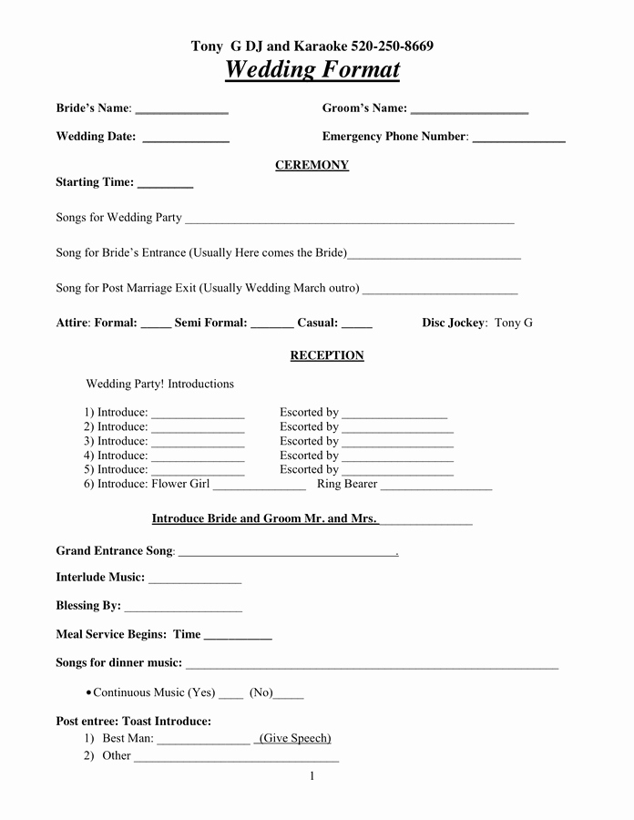 Disc Jockey Contracts Template Lovely Dj Contract In Word and Pdf formats