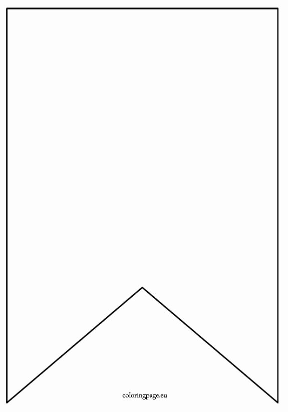 Diy Birthday Banner Template Fresh Flag Banner Template Coloring Page