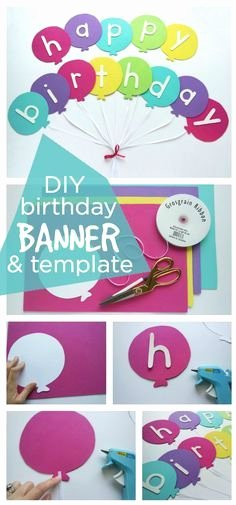 Diy Birthday Banner Template Inspirational 25 Unique Free Banner Templates Ideas On Pinterest