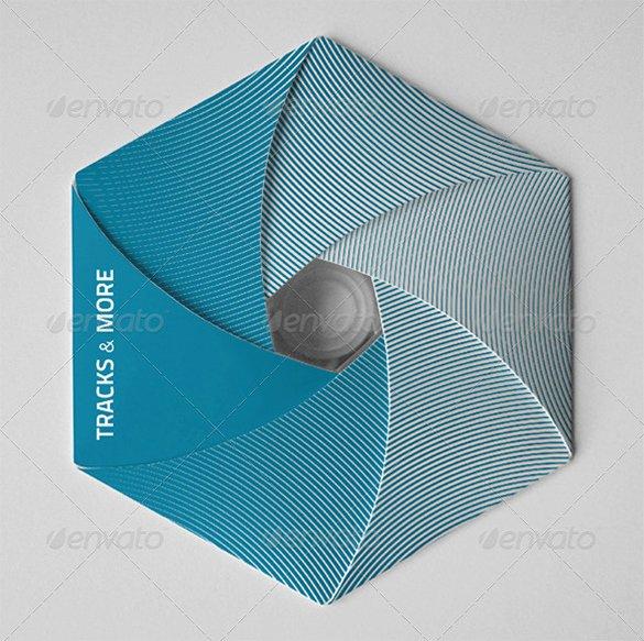 Diy Cd Sleeve Template Beautiful Cd Fold Out Template Beautiful Template Design Ideas