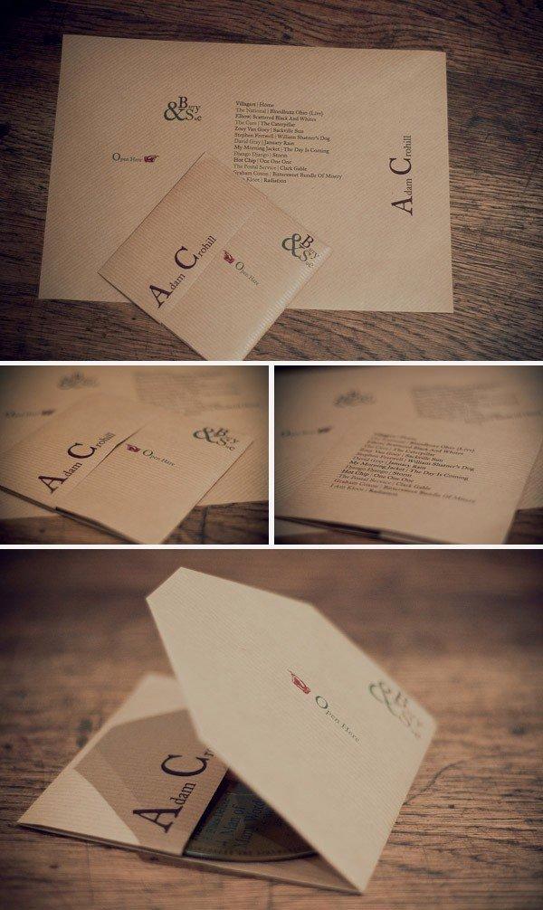 Diy Cd Sleeve Template Beautiful Diy Wedding Ideas Cd Favor & Place Seating Card