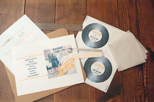 Diy Cd Sleeve Template Best Of Save the Date Ideas Cd Covers A Chair Affair Inc