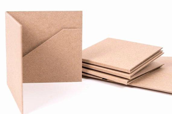 Diy Cd Sleeve Template Inspirational 10 Kraft Cd Cases 2 Pocket Wedding Favors
