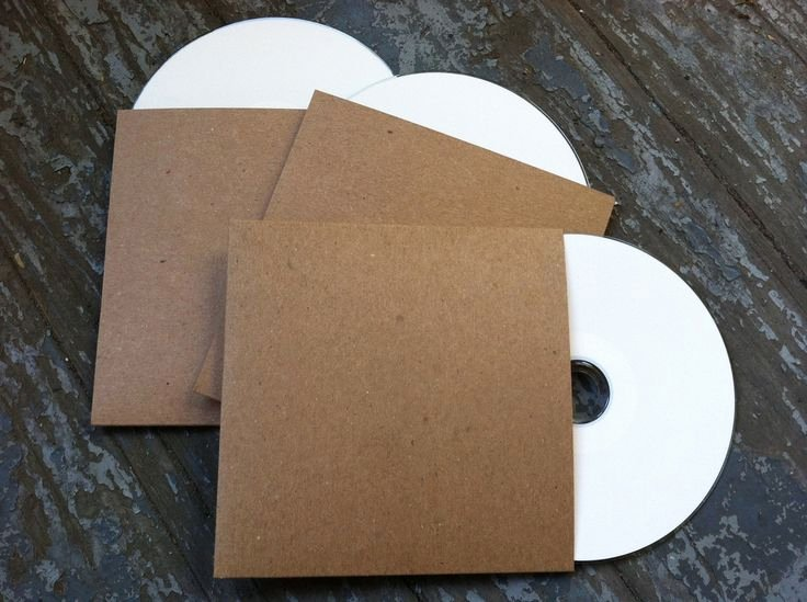 Diy Cd Sleeve Template Luxury 25 Best Ideas About Cd Sleeves On Pinterest