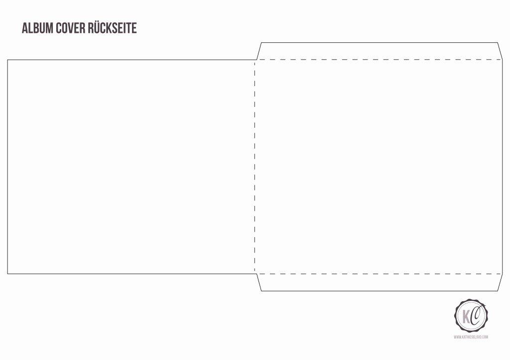 Diy Cd Sleeve Template New Cd Cover Aus Papier Kathie S Cloud