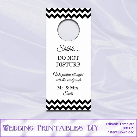 Diy Door Hanger Template Best Of Diy Do Not Disturb Door Hanger Template Templates
